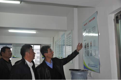 集团公司华东指挥部领导检查指导南龙项目部工