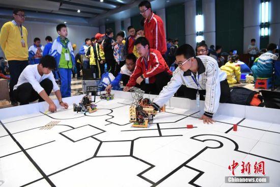 山西青少年机器人竞赛大比拼