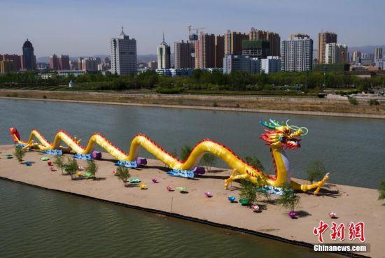 """山西126米""""中华第一巨龙""""换装亮相"""