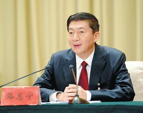 11月6日,省委书记骆惠宁在中共山西省委十一届五次全体会议上讲话。本报记者李联军摄