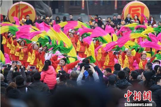 古城特色民俗闹新春