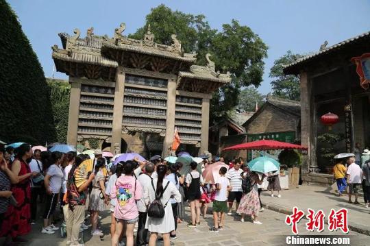 40位海外华裔青少年走进兴发娱乐官网手机版皇城相府