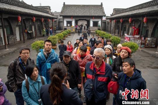 [热点]海外华文媒体参访平遥古城了解晋商文化