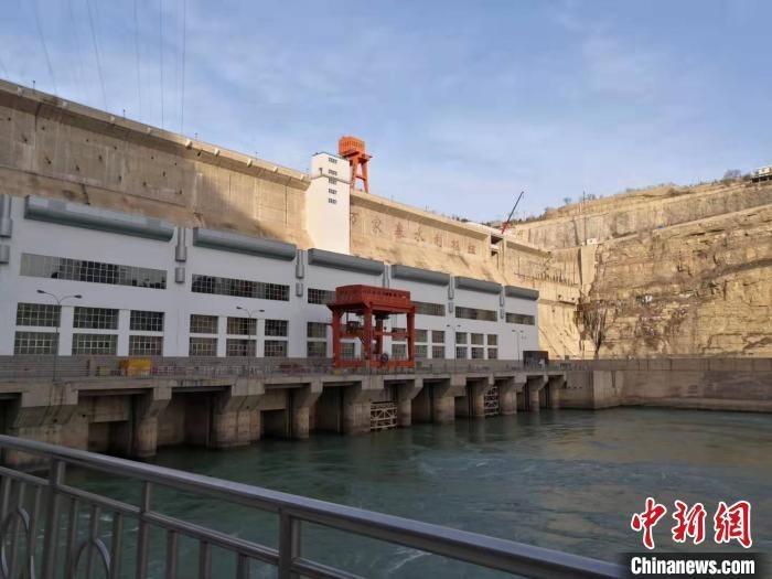 """山西16年引入30亿立方黄河水""""解渴""""。 李新锁 摄"""
