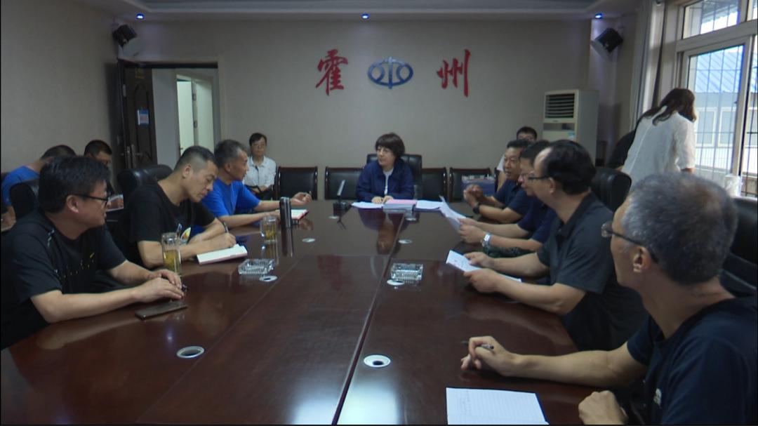 霍州市委副书记、市长李青雁检查防汛工作