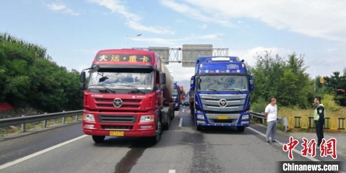荣乌高速河北段发生事故 由晋入冀车道封闭近四小时