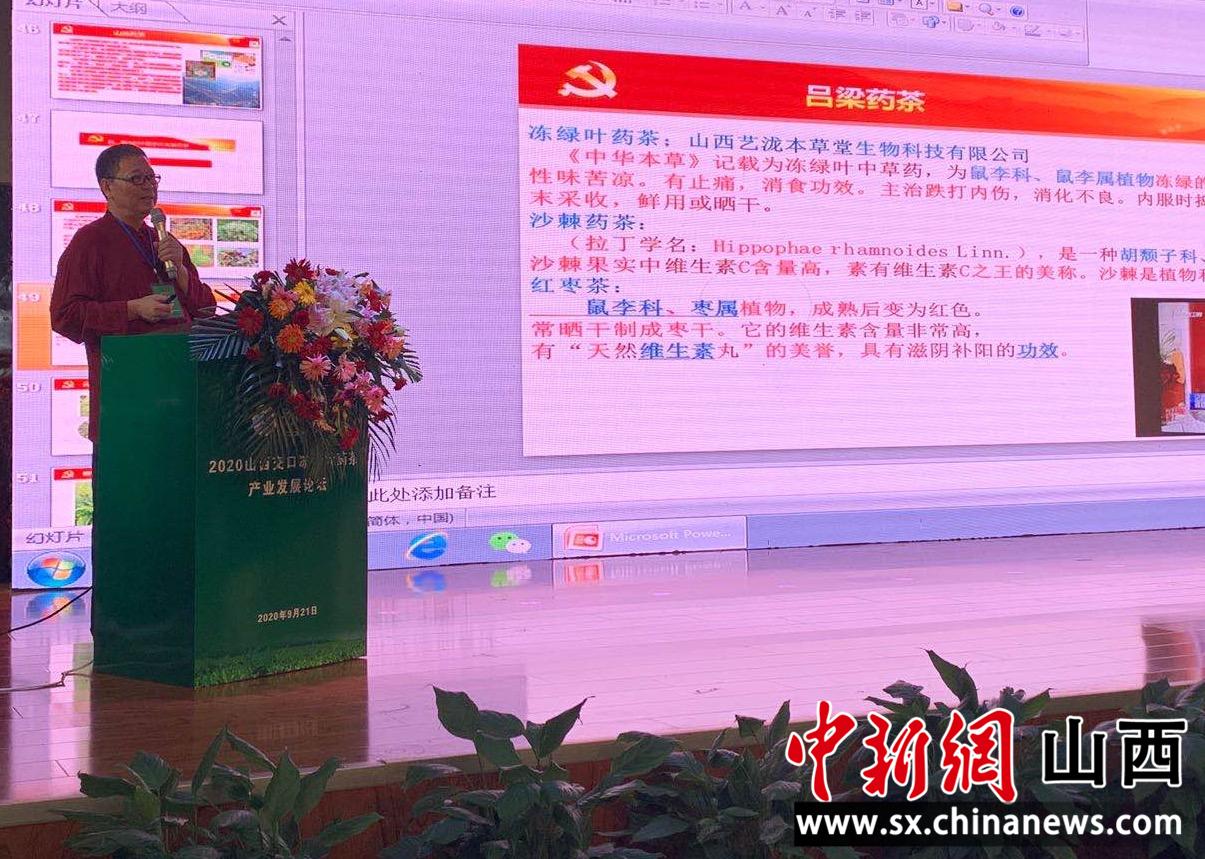 """""""多名专家共论茶道:冻绿叶药茶产业将支撑山西交口农业转型"""