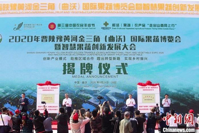 """中外专家齐聚""""黄河金三角"""" 共商果蔬产业创新科技发展"""