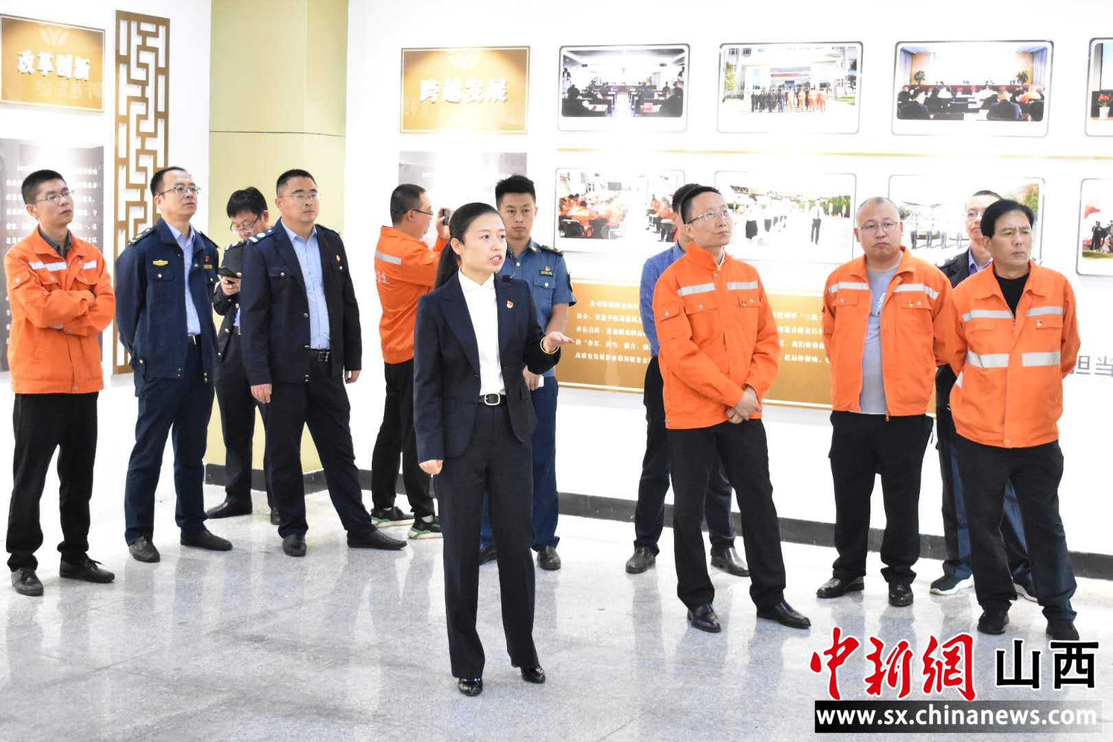 """山西交控吕梁北公司:党建+企业文化""""联姻""""共创双赢"""