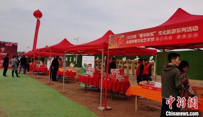 """""""山西吉县打造特色苹果小镇 """"红果果""""助农增收"""