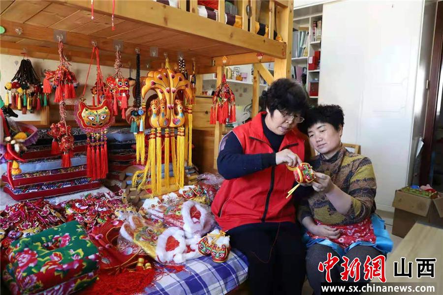 线上预约非遗布艺课 山西潞城打造特色课程派送模式丰富民众生活
