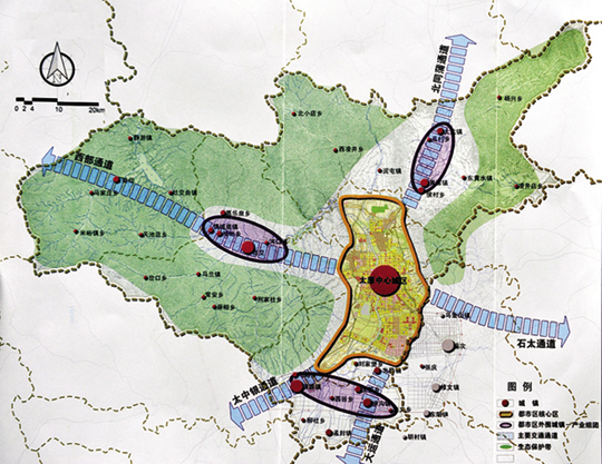晋中龙城半岛地图
