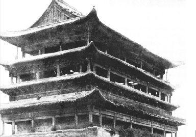 并在此大兴土木,起造宫殿,还在晋祠和西山修筑离宫别墅,凿建石窟寺庙.图片
