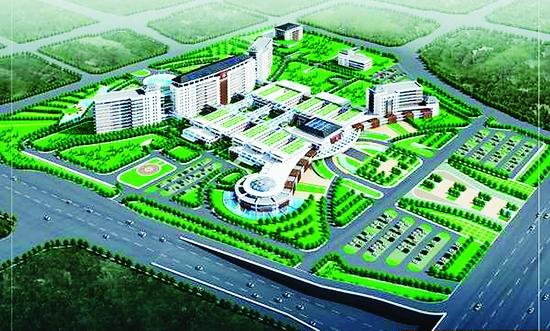经过国际招标,设计方案优化,山西大医院在规划,设计,建设各个环节都将
