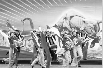 山西 原平凤秧歌 传统节目已无法演全