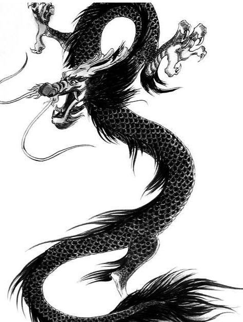 汉代学者王充曾指出,龙的角像鹿,头如驼,眼睛如兔,颈如蛇,腹似蜃,鳞如