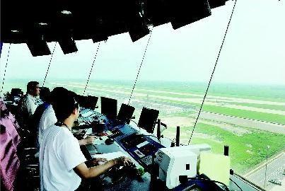 飞机降落机场