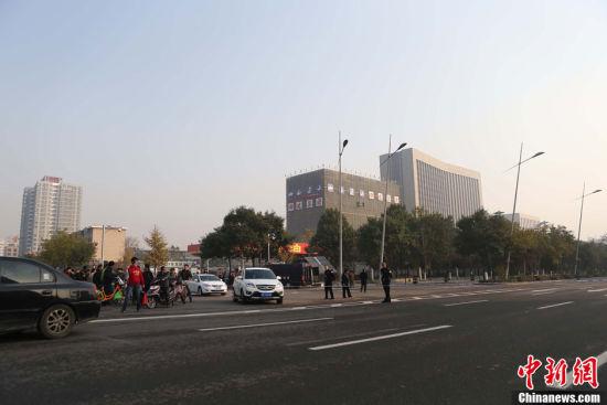 山西省委附近連續發生爆炸 疑似自制炸彈爆炸
